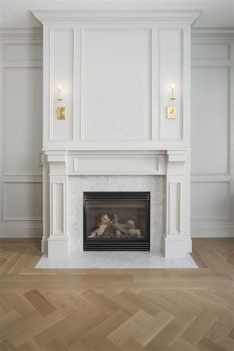 White Wood Fireplace Mantel by Beautiful Millwork On Fireplace If We Built Up The Area