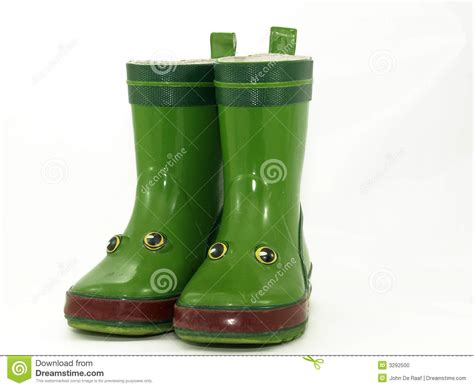 childrens boots stock photo image