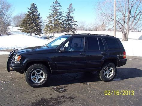 1998 Jeep Grand 5 9 Limited For Sale Buy Used 1998 Jeep Grand 5 9 Limited Sport