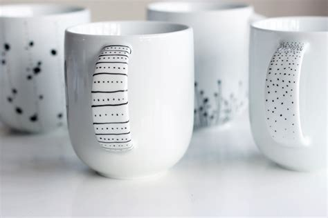 designer mug how to decorate a coffee mug using a porcelain marker