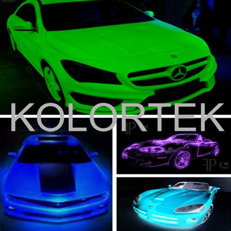 glow in the paint on car glow in the car paint pigment glow phosphor