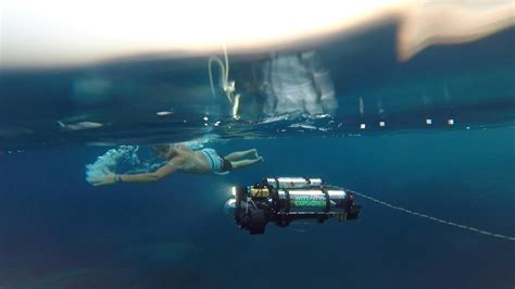 Drone Underwater 3d printed exoskeleton attachment transforms dji phantom 4 into search and rescue drone