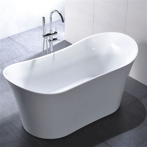 bathtubs ebay freestanding 67 inch slipper style white acrylic bathtub