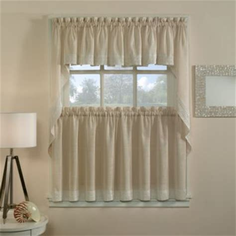 kitchen curtains bed bath and beyond buy kitchen tier curtains from bed bath beyond