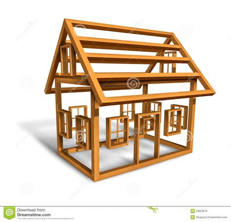 build a house free home construction stock illustration image of