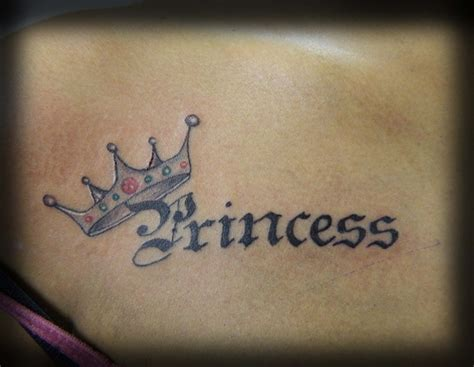 tattooed princesses crown tattoos and designs page 9