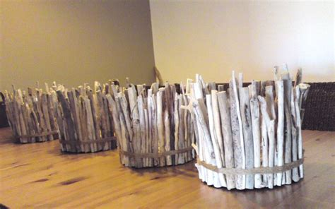 driftwood candle holder centerpiece beach large 10 quot x