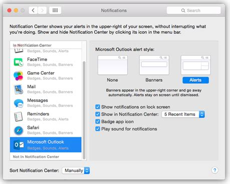 Calendar Shared Notifications Outlook For Mac For Office 365 New Email Notification