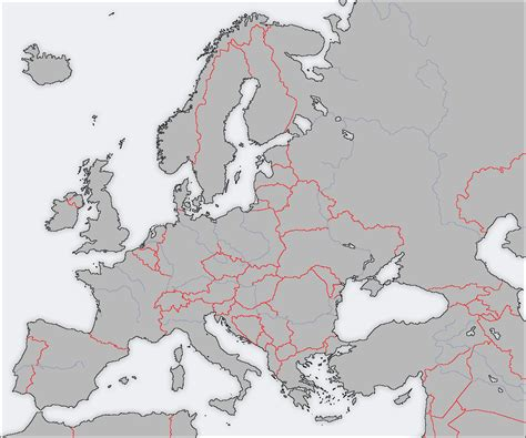 best photos of europe map template europe map blank with