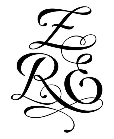 modele de tatouage avec 3 lettres