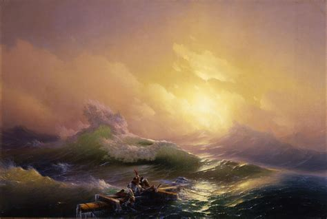ivan aivazovsky the ninth wave graphicine the deep waves 10 amazing sea paintings by famous artists the