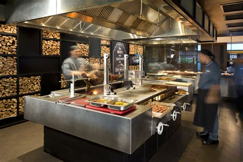 Kitchen Cabinets In Chicago A Customized Grill With 3 Separate Grilling Sections For
