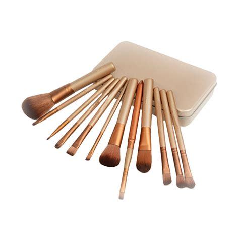 Kuas Untuk Make Up jual beautycare line kuas make up coklat peralatan make up harga kualitas terjamin
