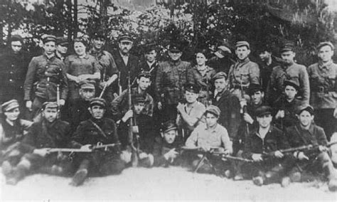 resistors of the holocaust armed resistance partisans