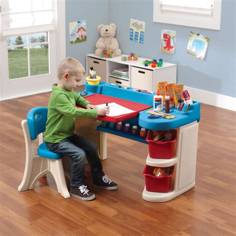 step2 studio art desk with chair studio art desk kids art desk step2