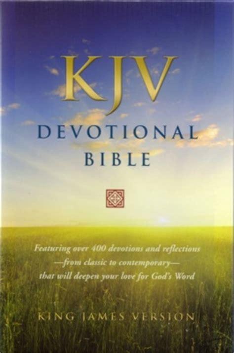 kjv devotional bible lovechristianbookscom