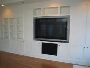 built ins tvs