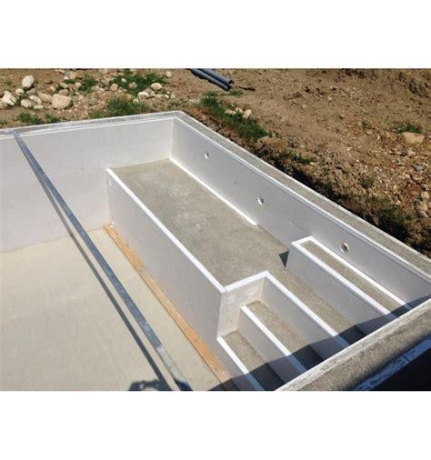 Construire Sa Piscine En Beton 2366 by Piscine En Kit Semi Enterr 233 E Beton