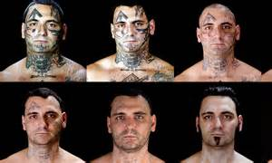 extreme tattoo ta florida bryon widner tattoos criminal tuns back time with 16