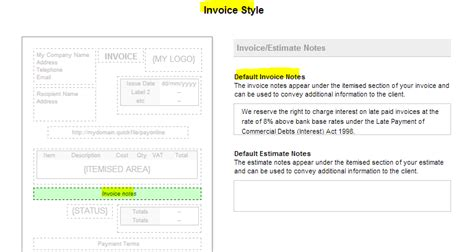 late payment  invoices quick file