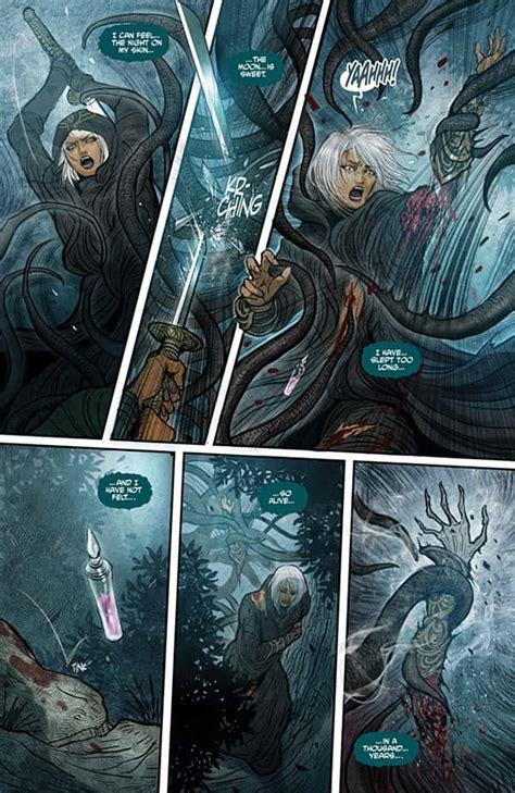 monstress volume 1 awakening image reviews monstress vol 1 awakening comicattack