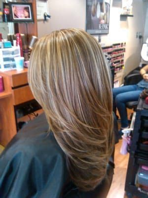 best hair highlights for dark hair to hide gray trendy hair highlights best highlights to cover gray