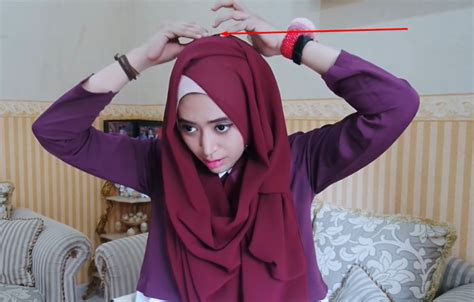 video tutorial hijab pashmina simple natasha farani gamabar hijab tutorial pashmina simple persegi panjang