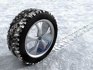 Car Tires For Snow Scattered Cars Canadian Winters