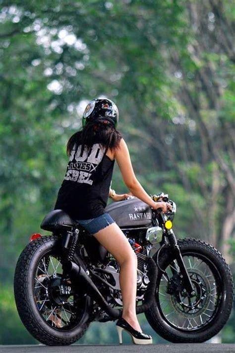 gambar modif honda tiger tangki gl100 cafe racer bratstyle honda bikes and tigers