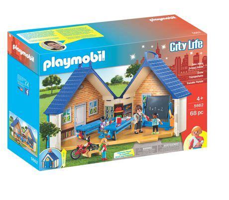 playmobil take along school house playset walmart ca