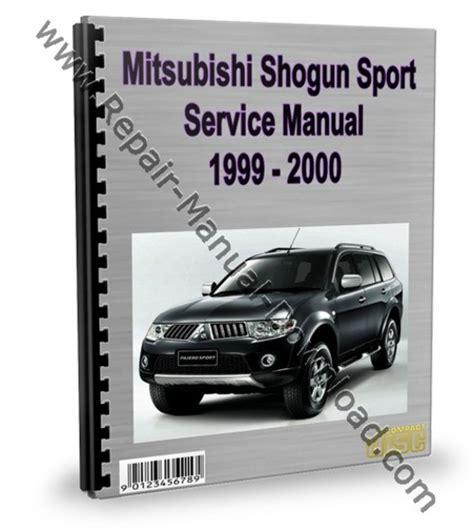 download car manuals 2000 mitsubishi montero electronic toll collection service manual 2000 mitsubishi montero sport and maintenance manual free pdf 2000 mitsubishi