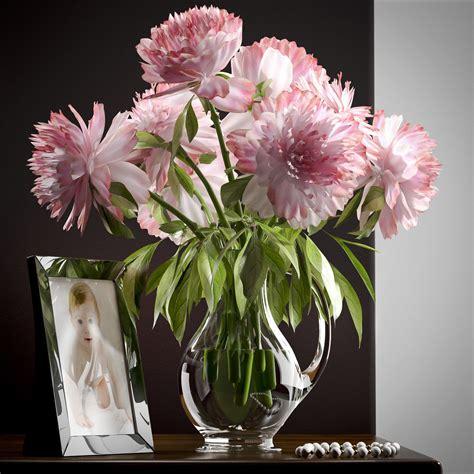flower vase set 19 3d model max obj mtl cgtrader