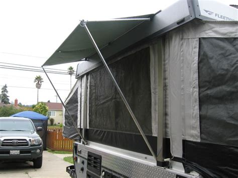 pop up awning rear awning cer pop up cer mods pinterest
