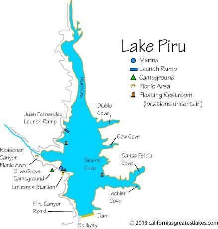 lake piru boat rentals lake piru fishing