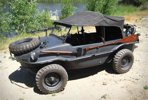 volkswagen thing in water 1943 ww2 vw schwimmwagen for sale