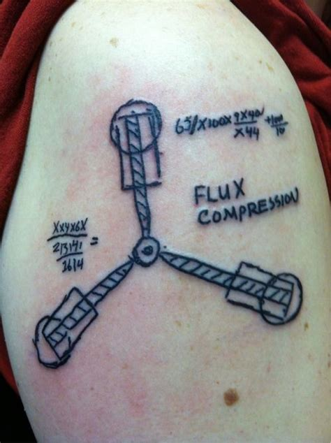 flux capacitor tattoo page 2 back to the future hobbit wars