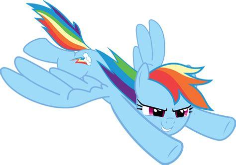 my little pony rainbow dash flying rainbow dash flying by mio94 on deviantart