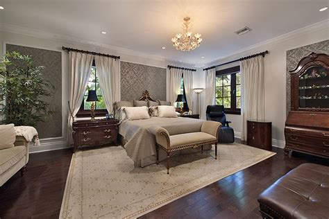 traditional master bedrooms traditional master bedroom with crown molding carpet in