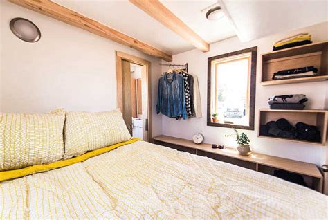Tiny House With Bedroom Downstairs by Roanoke By Tumbleweed Tiny House Company Tiny Living