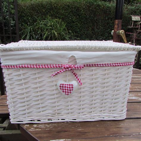 Laundry Hers With Lids Wicker Basket With Lid Ebay Wicker Laundry Hers With Lids Buy Pastoral Groceries Small Large