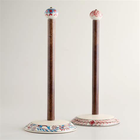 ceramic paper towel holder set of 2 world market