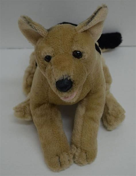 puppy dogs r us toys r us animal alley german shepard puppy plush stuffed animal 13 quot toys toys