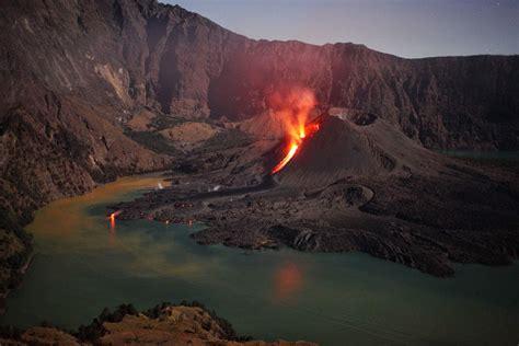 indonesian volcano  eruption samalas  times larger