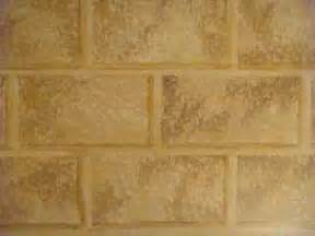 Faux Stone Wall Painting - painting faux stone wall