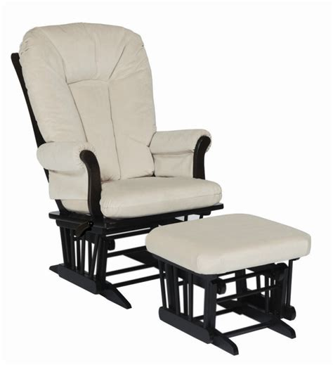 dutailier glider recliner and ottoman dutailier reclining glider and ottoman espresso with