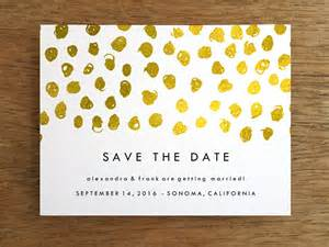 save the date printable templates save the date template gold dots