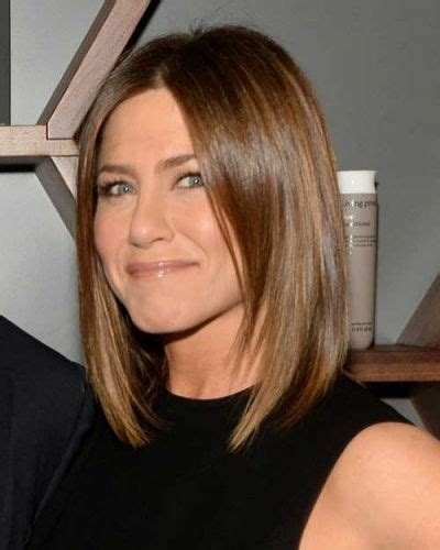 brunette lob hairstyles 7 jennifer aniston bob haircuts top rated bob haircuts