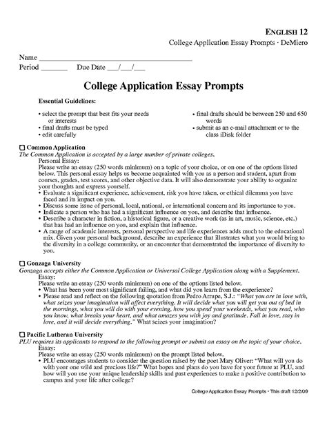 Pbsc College Essay Prompt by Using Quotes In College Essays Quotesgram