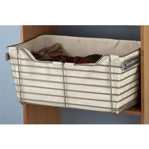 Closet Baskets hafele cloth liner for closet baskets kitchensource