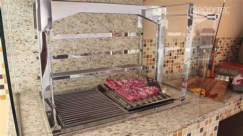 Ceffi Lazer Ah 4 grill new prime polytec churrasqueiras e lareiras